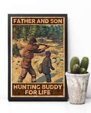FATHER AND SON HUNTING BUDDY FOR LIFE 24x36 Poster lifestyle-poster-8