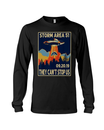 Storm Area 51 Shirt Alien