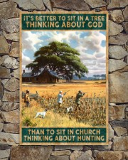 I SIT IN CHURCH THINKING ABOUT HUNTING 24x36 Poster aos-poster-portrait-24x36-lifestyle-16