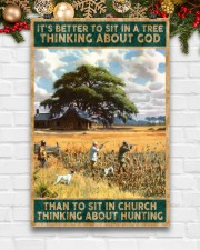 I SIT IN CHURCH THINKING ABOUT HUNTING 24x36 Poster aos-poster-portrait-24x36-lifestyle-21