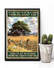 I SIT IN CHURCH THINKING ABOUT HUNTING 24x36 Poster lifestyle-poster-8