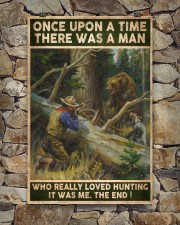 THERE WAS A MAN WHO REALLY LOVED HUNTING 24x36 Poster aos-poster-portrait-24x36-lifestyle-16