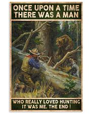 THERE WAS A MAN WHO REALLY LOVED HUNTING 24x36 Poster front