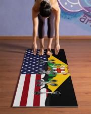 Jamaica Yoga Mat Yoga Mat 24x70 (vertical) aos-yoga-mat-lifestyle-25