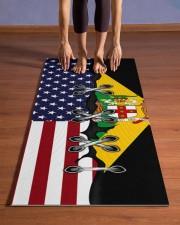 Jamaica Yoga Mat Yoga Mat 24x70 (vertical) aos-yoga-mat-lifestyle-26