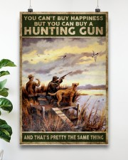 buy hapiness buy a hunting gun  24x36 Poster aos-poster-portrait-24x36-lifestyle-19
