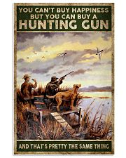 buy hapiness buy a hunting gun  24x36 Poster front