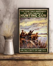 buy hapiness buy a hunting gun  24x36 Poster lifestyle-poster-3