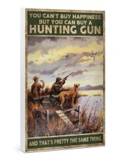 buy hapiness buy a hunting gun  24x36 Gallery Wrapped Canvas Prints thumbnail