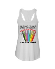 LOVE YOUR TEACHER Ladies Flowy Tank tile