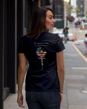 SHE IS GOOD GIRL Ladies T-Shirt lifestyle-women-crewneck-back-1