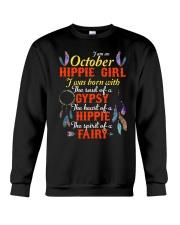 OCTOBER HIPPIES GIRL Crewneck Sweatshirt thumbnail