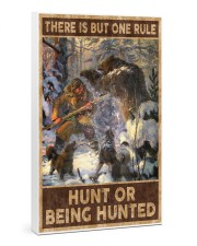 HUNT OR BEING HUNTED Gallery Wrapped Canvas Prints tile
