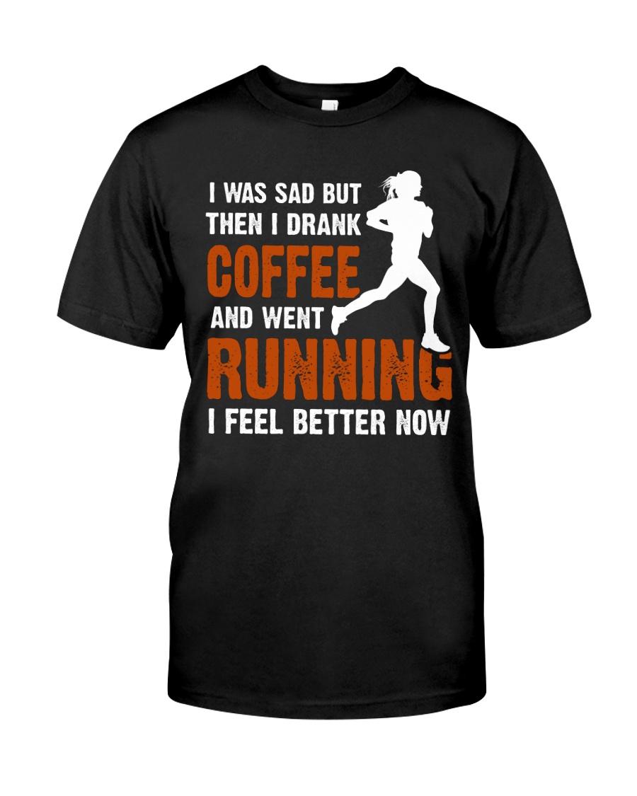 coffee running Classic T-Shirt