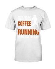 coffee running Classic T-Shirt tile