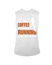 coffee running Sleeveless Tee thumbnail