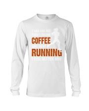 coffee running Long Sleeve Tee thumbnail