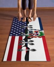 Dominicana Yoga Mat 01 Yoga Mat 24x70 (vertical) aos-yoga-mat-lifestyle-26