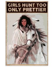 GIRLS HUNT TOO ONLY PRETTIER 24x36 Poster front