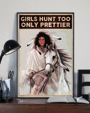 GIRLS HUNT TOO ONLY PRETTIER 24x36 Poster lifestyle-poster-2