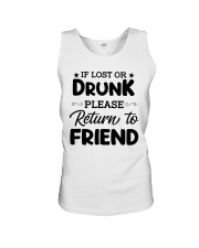 If Lost or Drunk Unisex Tank thumbnail