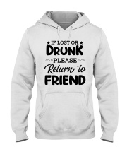 If Lost or Drunk Hooded Sweatshirt thumbnail