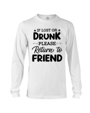 If Lost or Drunk Long Sleeve Tee thumbnail