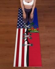 Haiti Yoga Mat Yoga Mat 24x70 (vertical) aos-yoga-mat-lifestyle-24