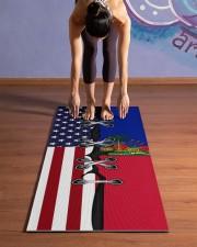 Haiti Yoga Mat Yoga Mat 24x70 (vertical) aos-yoga-mat-lifestyle-25