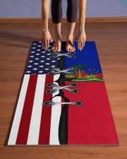 Haiti Yoga Mat Yoga Mat 24x70 (vertical) aos-yoga-mat-lifestyle-26