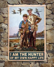 I am the hunter of my own happy life poster 24x36 Poster aos-poster-portrait-24x36-lifestyle-16