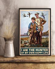 I am the hunter of my own happy life poster 24x36 Poster lifestyle-poster-3