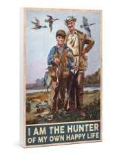 I am the hunter of my own happy life poster 24x36 Gallery Wrapped Canvas Prints thumbnail