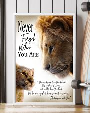 NEVER FORGET WHO YOU ARE 11x17 Poster lifestyle-poster-4