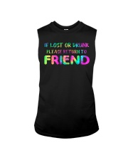 IF LOST OR DRUNK Sleeveless Tee thumbnail