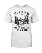 let's just go Classic T-Shirt tile