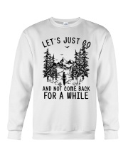 let's just go Crewneck Sweatshirt thumbnail