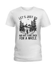 let's just go Ladies T-Shirt thumbnail
