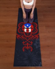 Puerto Rico Yoga Mat Yoga Mat 24x70 (vertical) aos-yoga-mat-lifestyle-24