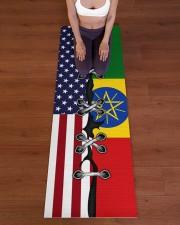 Ethiopia Yoga Mat Yoga Mat 24x70 (vertical) aos-yoga-mat-lifestyle-24