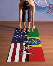 Ethiopia Yoga Mat Yoga Mat 24x70 (vertical) aos-yoga-mat-lifestyle-25