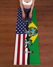 Brazil Yoga Mat Yoga Mat 24x70 (vertical) aos-yoga-mat-lifestyle-24