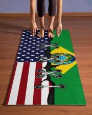 Brazil Yoga Mat Yoga Mat 24x70 (vertical) aos-yoga-mat-lifestyle-26