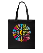 SHE DANCE TO THE SONG Tote Bag thumbnail