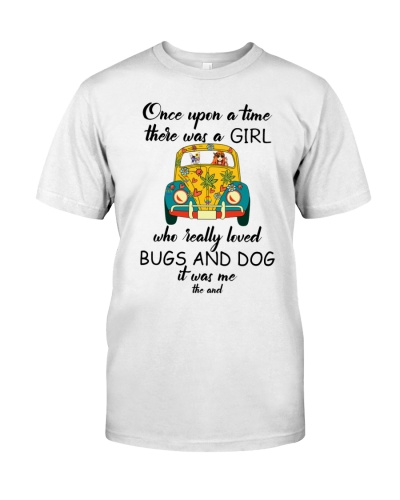 GIRL LOVES BUGS AND DOGS