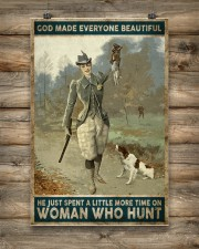 God spend a little more time on huntng woman  24x36 Poster aos-poster-portrait-24x36-lifestyle-14