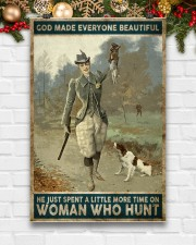 God spend a little more time on huntng woman  24x36 Poster aos-poster-portrait-24x36-lifestyle-21