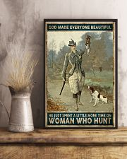 God spend a little more time on huntng woman  24x36 Poster lifestyle-poster-3