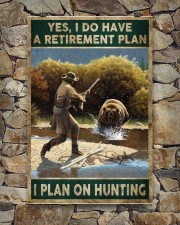 EDUCATION IS IMPORATNT BUT HUNTING IS IMPORTANTER 24x36 Poster aos-poster-portrait-24x36-lifestyle-16