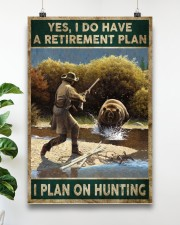 EDUCATION IS IMPORATNT BUT HUNTING IS IMPORTANTER 24x36 Poster aos-poster-portrait-24x36-lifestyle-19